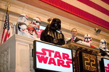 Howard Roffman Rings The NYSE Opening Bell
