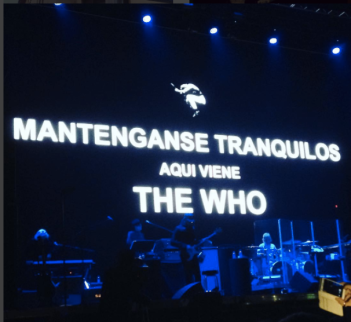 TheWho live